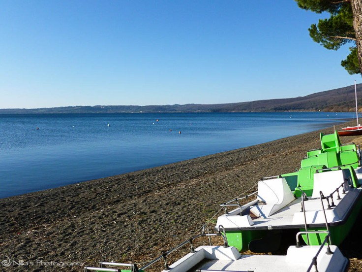 Lake Bracciano, Italy, camping, motorhome