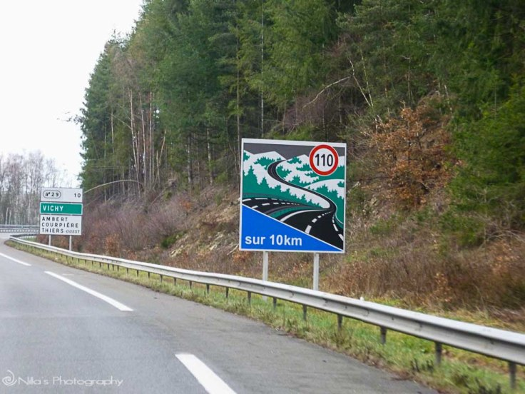 highway, Lalizolle, France