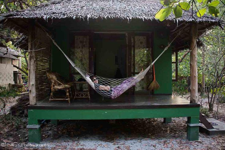 bungalow, Thailand, Koh Phayam Island