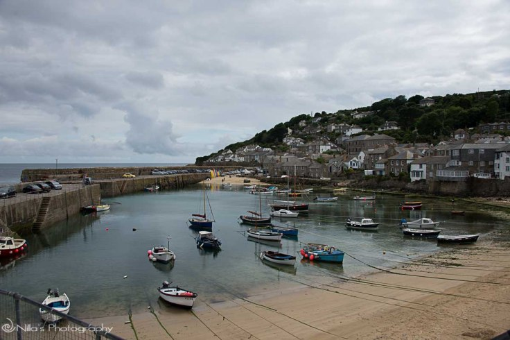 Mousehole Harbour, UK, motorhoming