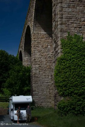 Angarrack, Cornwall, Viaduct, UK, motorhoming