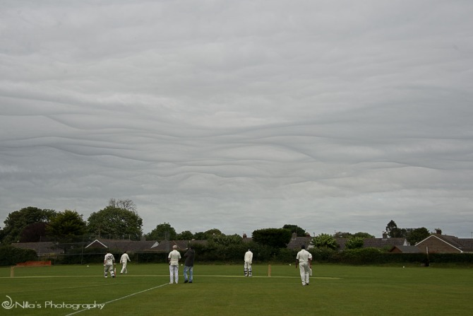 Wareham, Dorset, UK, cricket