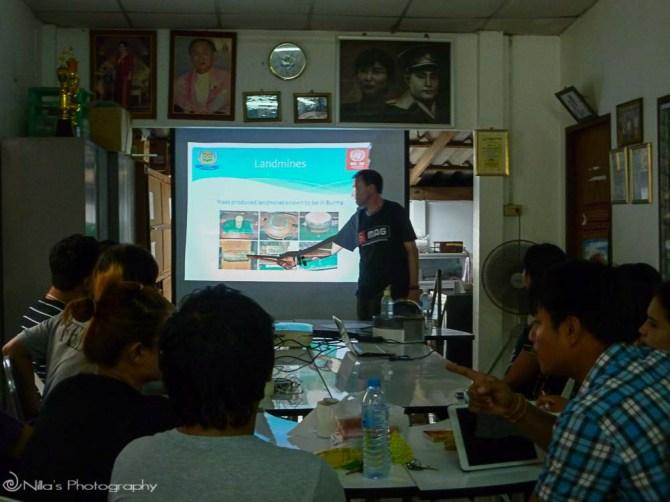 MRE training, Khuk Khak, Thailand