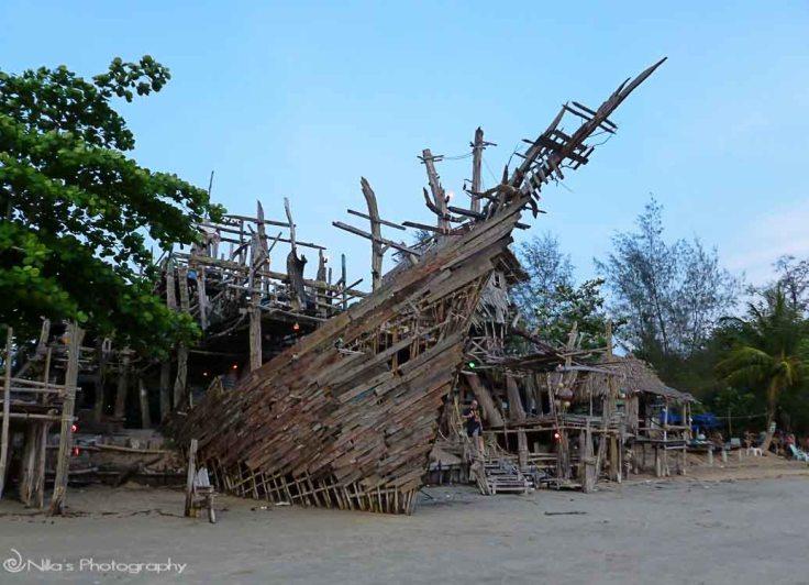 Hippy, Bar, Thailand, Koh Phayam Island