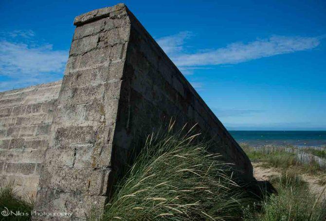 Courseulles-sur-Mer, Juno, Normandy, France, bunker