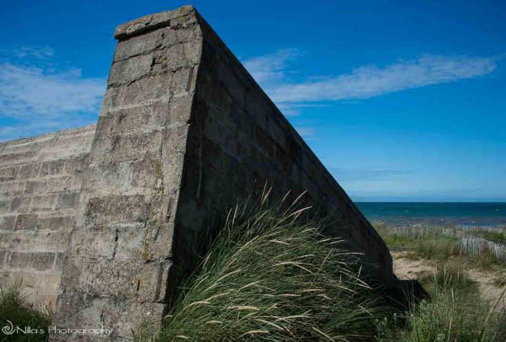 Courseulles-sur-Mer, Juno, Normandy, France, bunker
