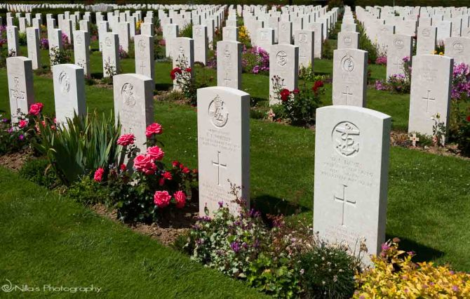 Bayeux, War Graves Commission Cemetery, France, Normandy