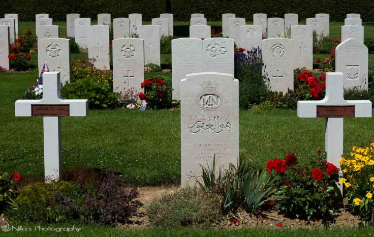 Bayeux, War Graves Commission Cemetery, France Normandy