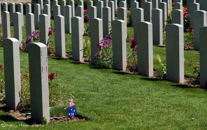 Bayeux, Commonwealth War Graves Commission Cemetery, Normandy, France
