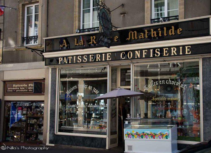 Bayeux, cafe, Normandy, France
