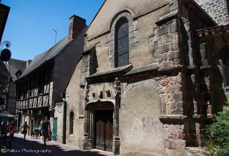 Saint-Pierre Quarter, Montlucon, France