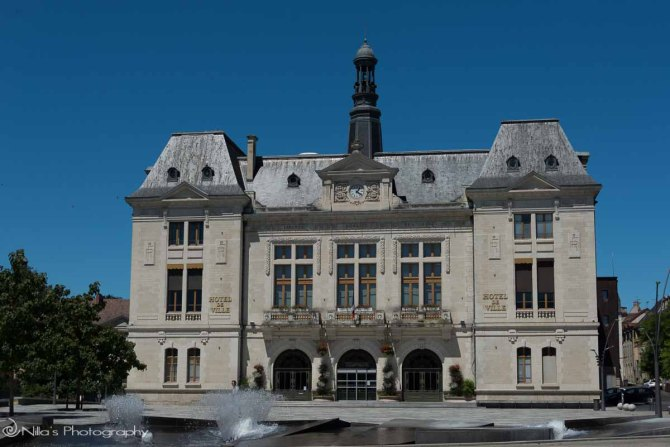 City Hall, Montlucon, France