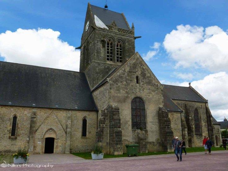 Sainte-Mère-Église, Normandy, France, paratrooper