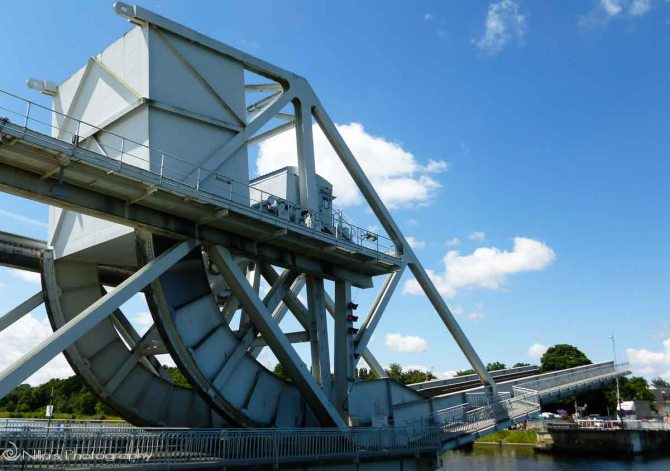 Pegasus, bridge, Normandy, France