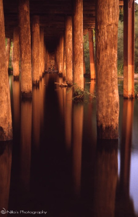 bridge, 35mm Koadchrome film.