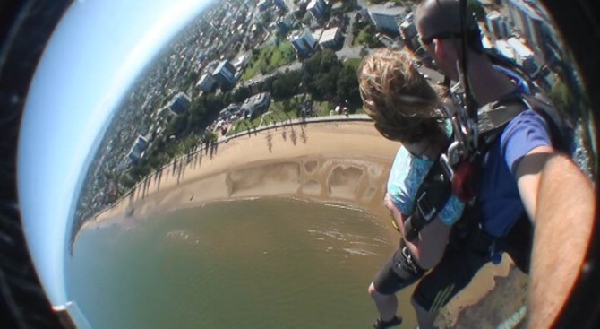 skydiving, Australia, Redcliffe
