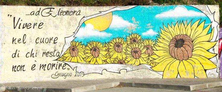 Paola, Calabria, Italy, street art