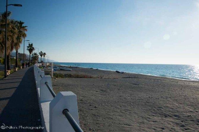 Paola, Calabria, Italy beach