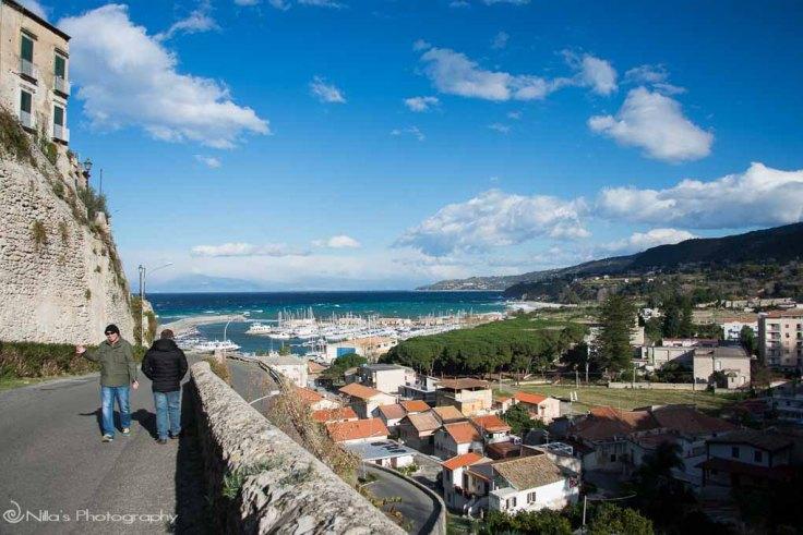 Tropea, Italy, Calabria, seafront