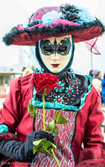 Venice, Italy, carnivale, masks, period costume
