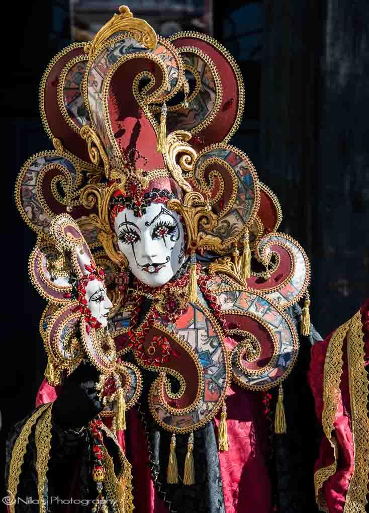 Venetian Mask Nilo Made In Venice Italy!