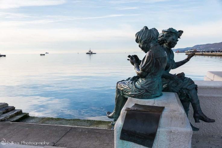 Trieste, Italy, seamstresses