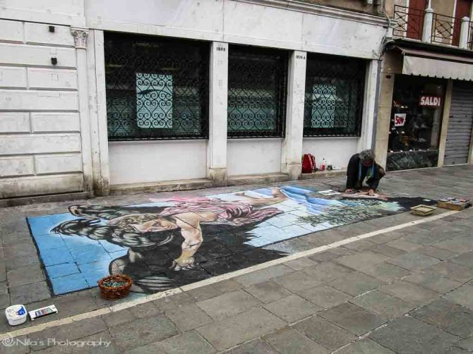 street art, Venice, Italy