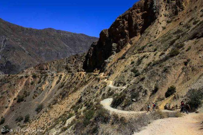 trekking, Peru, Colca Canyon, South America