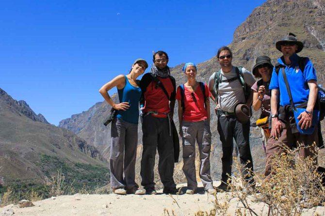 trekking, Colca Canyon, Peru, South America