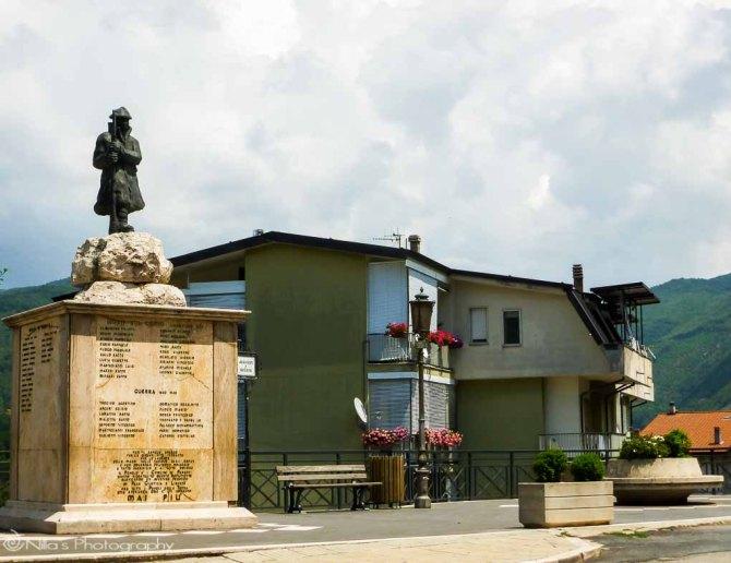 memorial, Parenti, Calabria, Italy