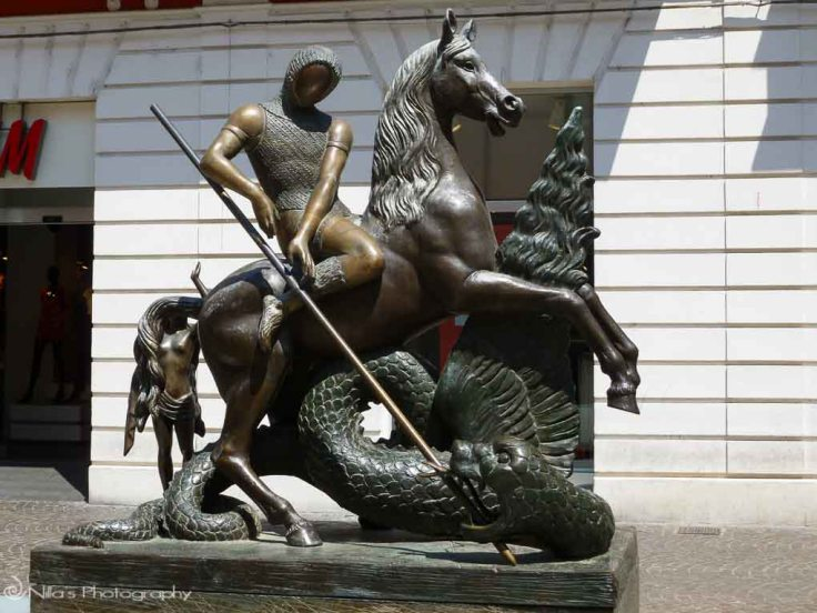 Cosenza, sculpture, Calabria, Italy