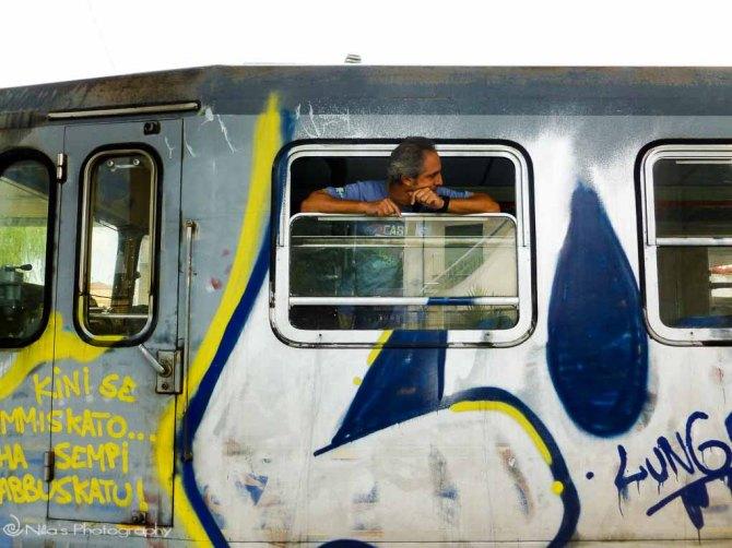 train, Rogliano, Calabria, Italy