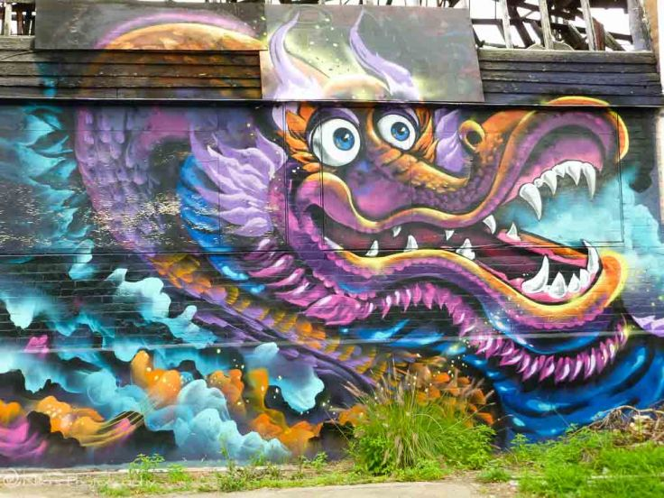 Red Hill, Brisbane, Australia, street art