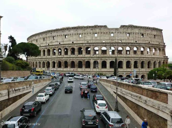 Rome, Colosseum, Italy