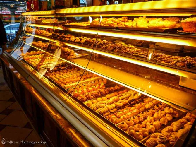 Cosenza, pastries, Calabria, Italy