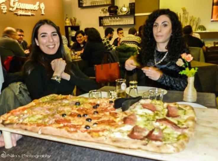pizza, Cosenza, Calabria, Italy