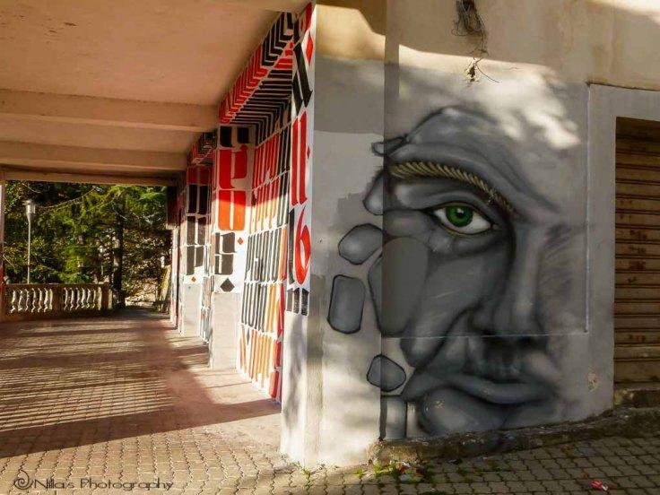 street art, Rogliano, Calabria, Italy
