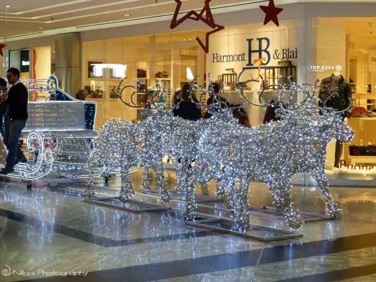 Christmas, Rende, Italy, Calabria, light art