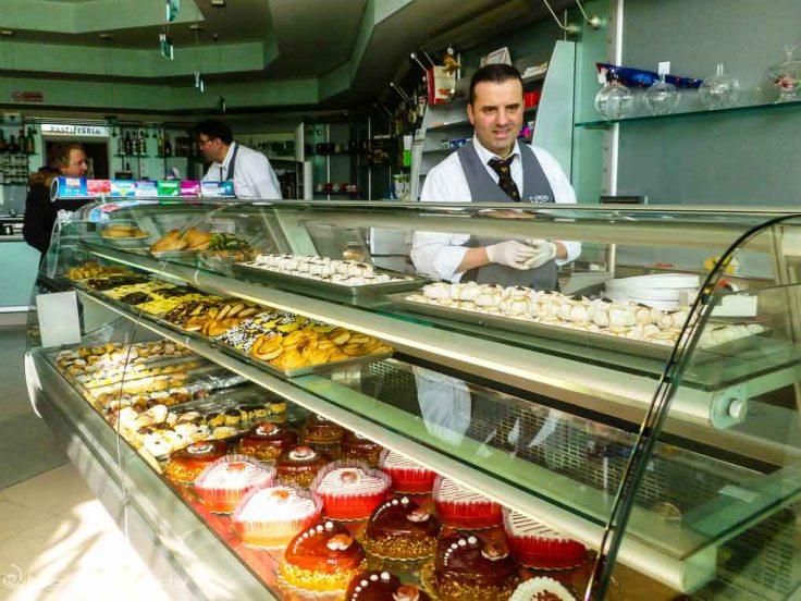 Cosenza, Italy, Calabria, cakes