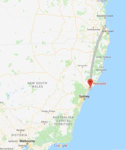 Brisbane, QLD, Newcastle, NSW, Australia