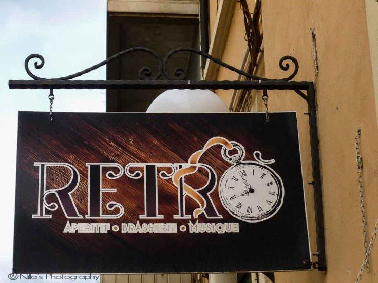 Retro Bar, Cosenza, Calabria, Italy