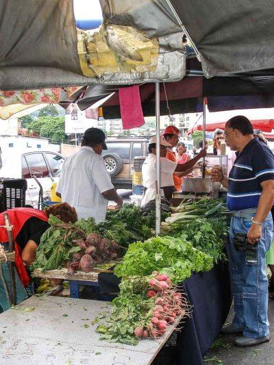Caracas, Venezuela, markets