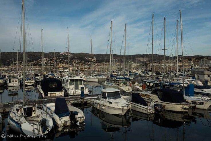 Trieste, Italy, marina