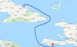 Sailing, Caribbean, Puerto de Vita, Cuba, Ile a Vache, Haiti