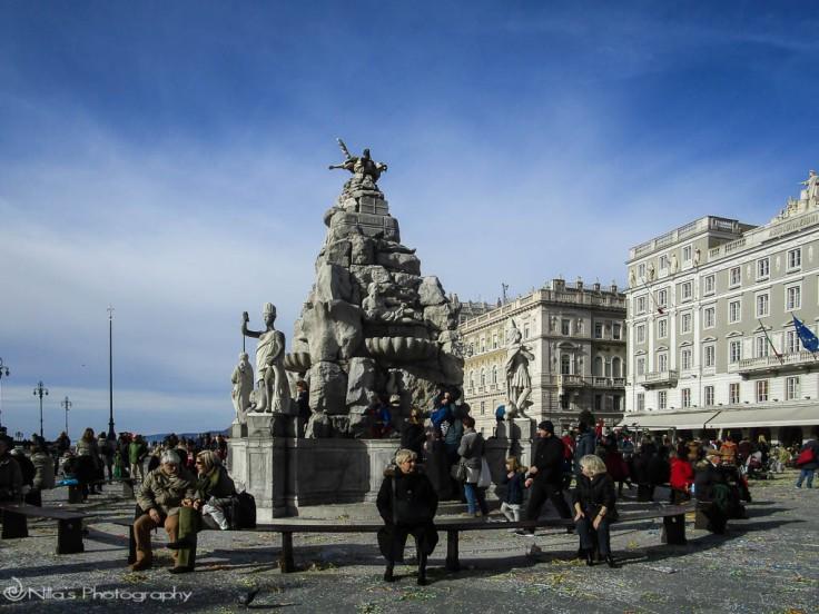 Piazza Unita D'ItaliaA, Trieste, Italy