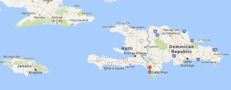Ille a Vache, Haiti, Cabo Rojo, Dominican Republic
