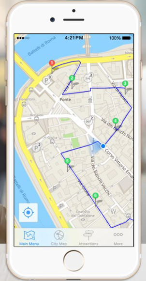 GPSmyCity, walking, guide