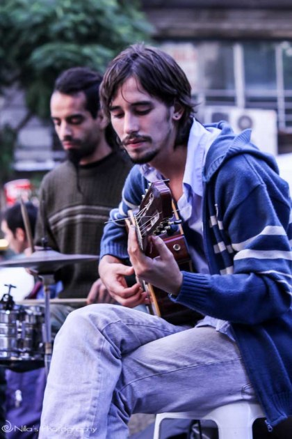 Buenos Aires, Argentina, buskers