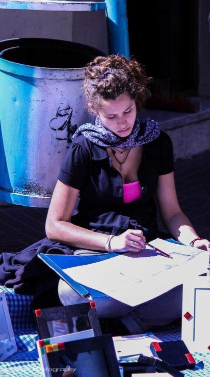 Buenos Aires, Argentina, artist, San Telmo fair