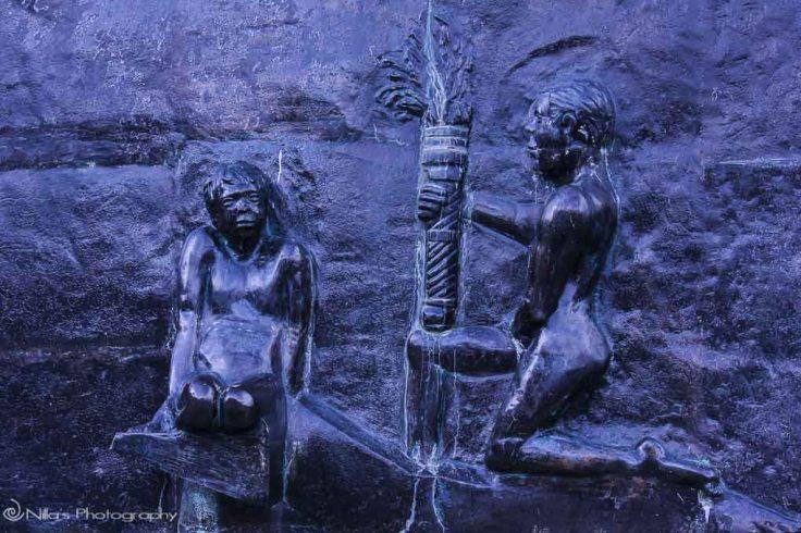 Ushuaia, Argentina, South America, fertility sculpture